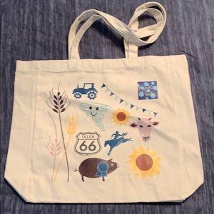 Kickee Pants Tulsa OK Sample Sale Canvas Bag